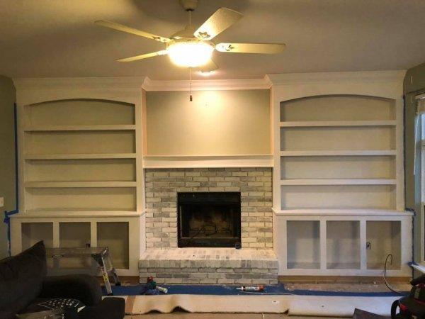 fireplace gray with custom built ins.jpg